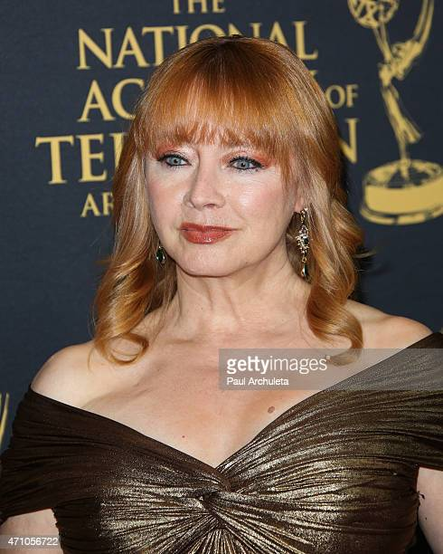 Actress Andrea Evans attends the 42nd Annual Daytime Creative Arts Emmy Awards at The Universal Hilton Hotel on April 24 2015 in Universal City...