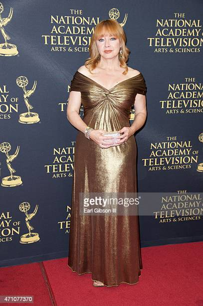 Actress Andrea Evans attends the 42nd Annual Daytime Creative Arts Emmy Awards at Universal Hilton Hotel on April 24 2015 in Universal City California