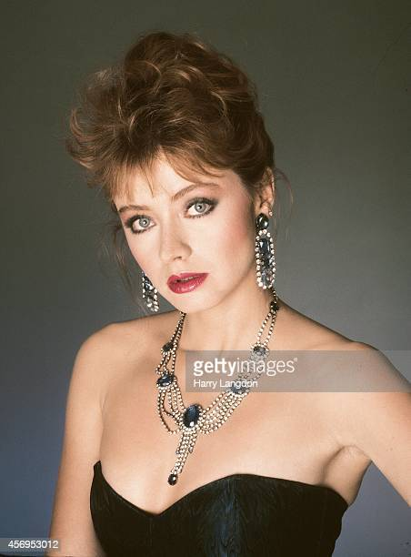 Actress Andrea Evans poses for a portrait in 1985 in Los Angeles California