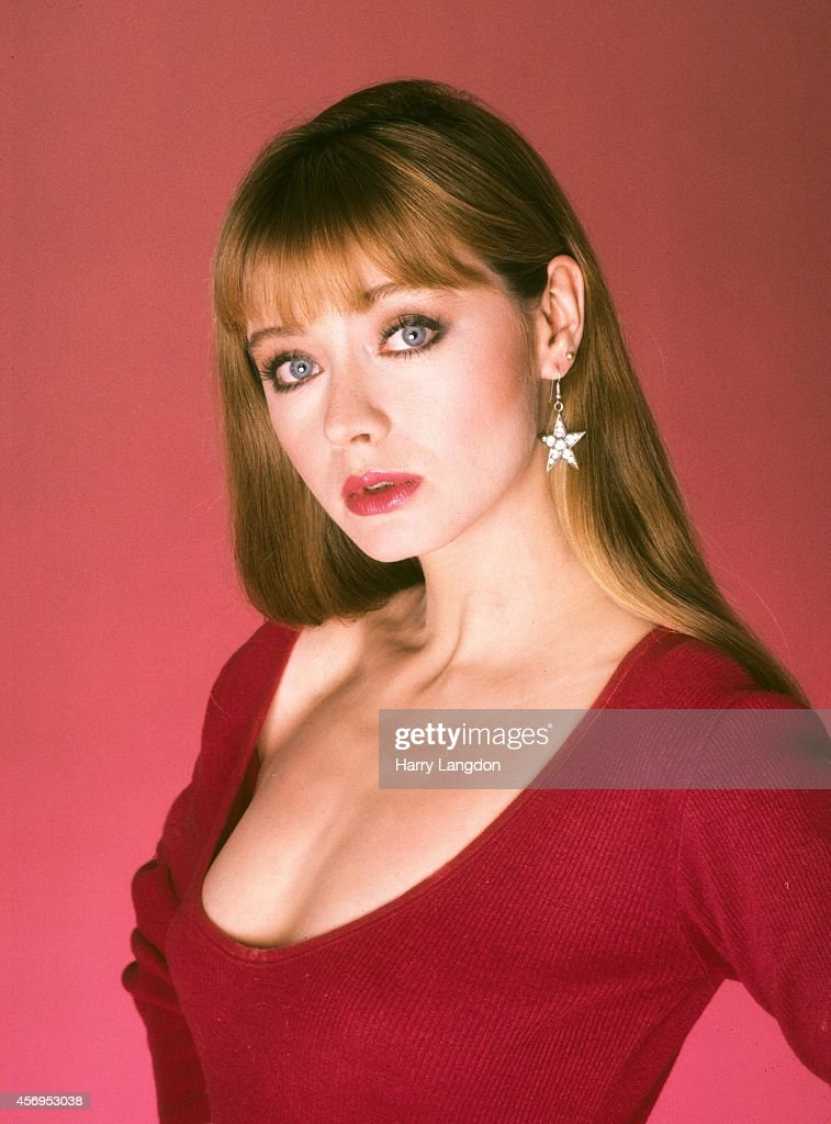 Actress Andrea Evans poses for a portrait in 1985 in Los Angeles, California.
