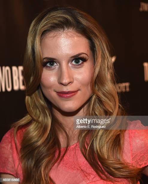 Actress Andrea Feczko attends the premiere of 'Two Bellmen' at The JW Marriott Los Angeles at LA LIVE on March 10 2015 in Los Angeles California