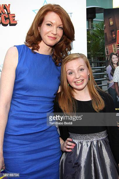 Actress Andrea Frankle and niece attend the 'Nicky Deuce' Los Angeles premiere held at ArcLight Hollywood on May 20 2013 in Hollywood California