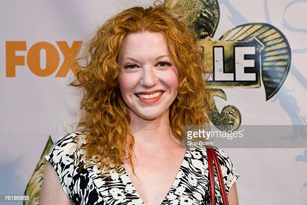 Actress Andrea Frankle arrives at the Fox Premiere of 'KVille' at Republic New Orleans on August 19 2007 in New Orleans Louisiana