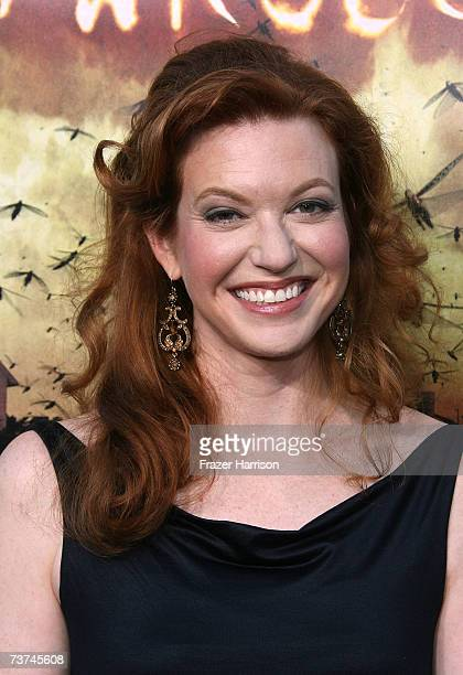 Actress Andrea Frankle arrives at the premiere of Warner Bros' The Reaping held at the Village Theatre March 29 2007 in Westwood California