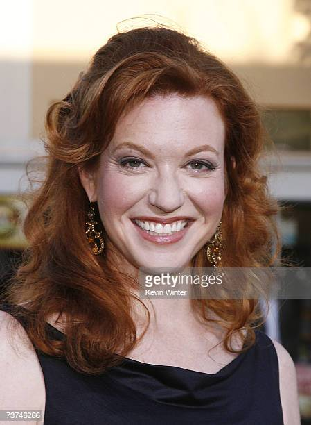 Actress Andrea Frankle arrives at the premiere of Warner Bros Pictures' The Reaping at the Village Theater on March 29 2007 in Los Angeles California