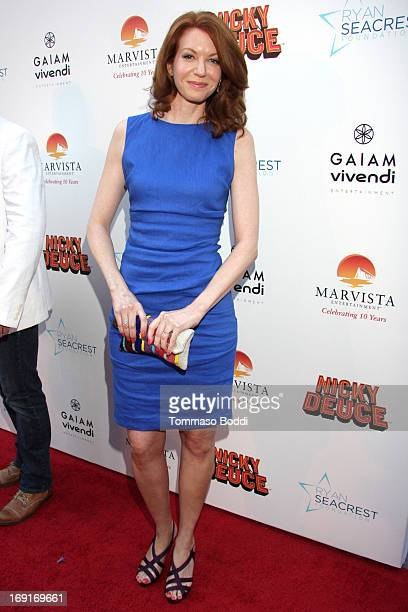Actress Andrea Frankle attends the 'Nicky Deuce' Los Angeles premiere held at ArcLight Hollywood on May 20 2013 in Hollywood California