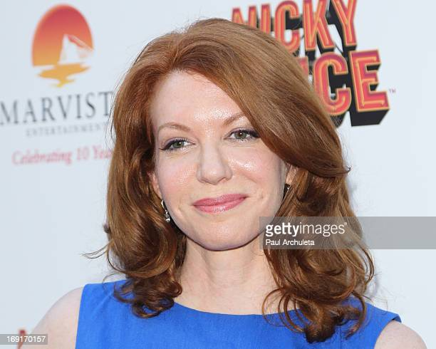 Actress Andrea Frankle attends the premiere for Nickelodeon's 'Nicky Deuce' at ArcLight Cinemas on May 20 2013 in Hollywood California