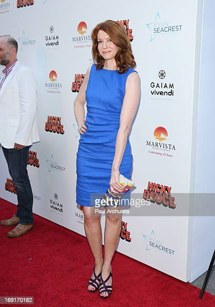 Actress Andrea Frankle attends the premiere for Nickelodeon's Nicky Deuce at ArcLight Cinemas on May 20 2013 in Hollywood California