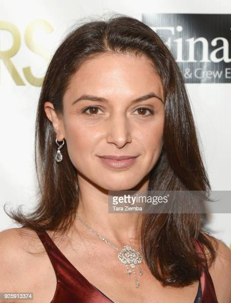 Actress Andrea Gabriel attends The 2018 Toscars at The Renberg Theatre on February 28 2018 in Los Angeles California