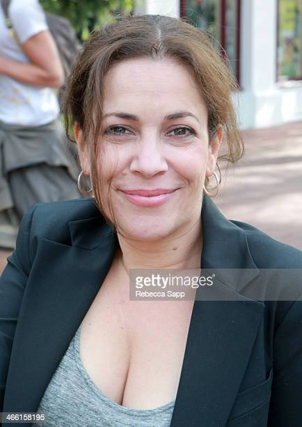 Actress Andrea Grano attends the 29th Santa Barbara International Film Festival on January 31 2014 in Santa Barbara California