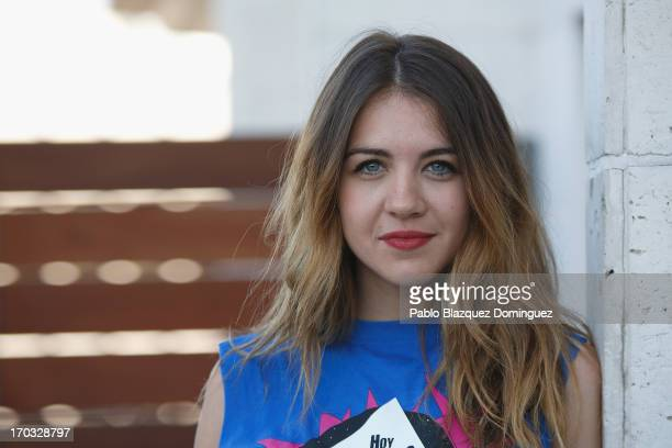 Actress Andrea Guasch attends 'Hoy No Me Puedo Levantar' presentation at Torre Madrid on June 11 2013 in Madrid Spain