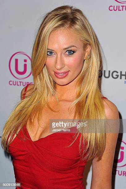Actress Andrea Hunt arrives at Ui Culture App Launch Party at TCL Chinese Theatre on December 10 2015 in Hollywood California