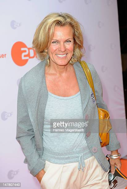 Actress Andrea L'Arronge attends the ZDF reception during the Munich Film Festival 2012 at the H'Ugo's on July 3 2012 in Munich Germany