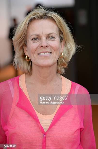 Actress Andrea L'Arronge attends the ZDF Reception during the Munich Film Festival 2013 at H'ugo's on July 2 2013 in Munich Germany