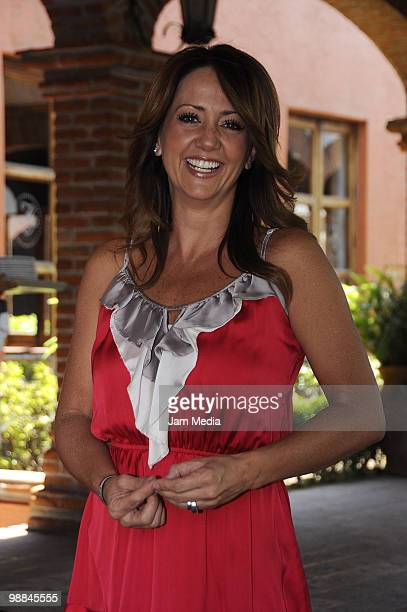 Actress Andrea Legarreta attends the Super Mamas awards granted by Readers Digest magazine at Hacienda Los Morales on May 4 2010 in Mexico City Mexico