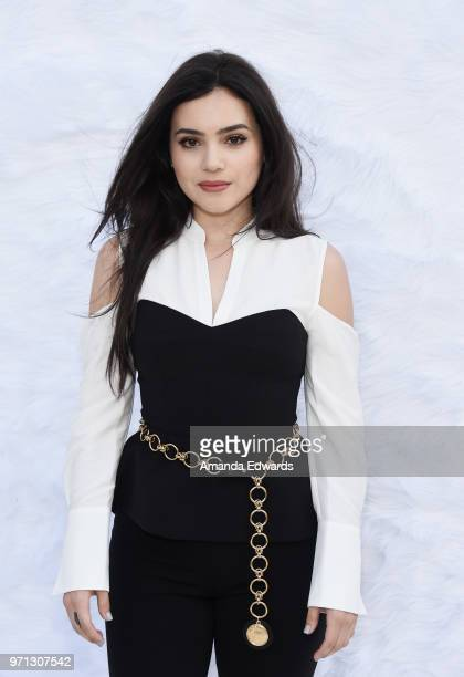 Actress Andrea Londo arrives at a special screening of 'SuperFly' hosted by Sony Pictures Entertainment at Sony Pictures Studios on June 10 2018 in...