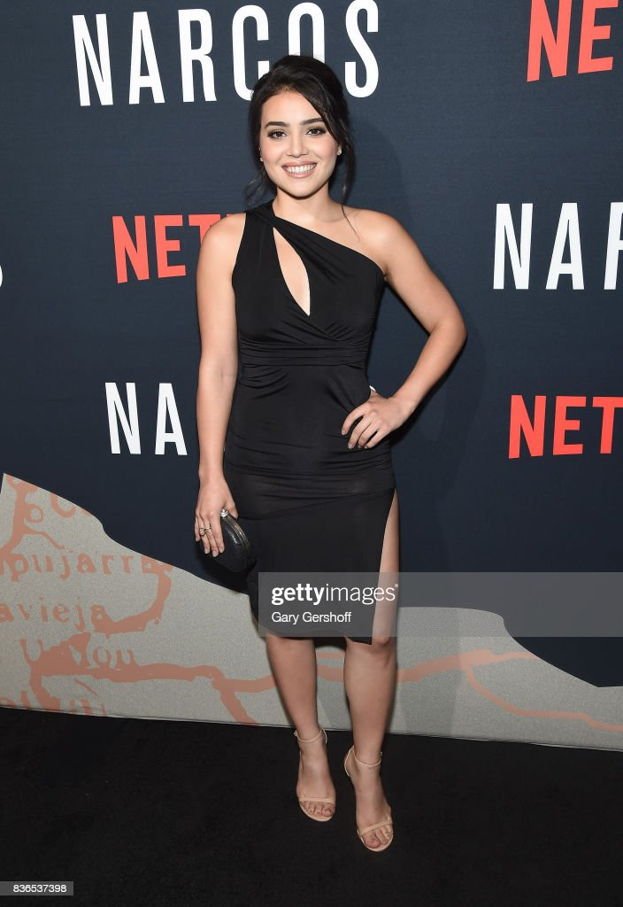 Actress Andrea Londo attends the 'Narcos' Season 3 New York screening at AMC Loews Lincoln Square 13 theater on August 21, 2017 in New York City.