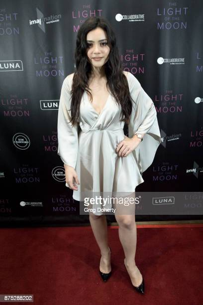 Actress Andrea Londo attends the 'The Light Of The Moon' Los Angeles Premiere at Laemmle Monica Film Center on November 16 2017 in Santa Monica...