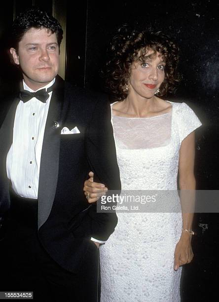 Actress Andrea Martin and guest attend the 38th Annual Drama Desk Awards on May 23 1993 at The Rainbow Room Rockefeller Plaza in New York City