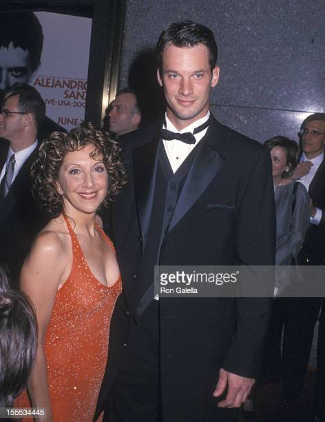 Actress Andrea Martin and guest attend the 56th Annual Tony Awards on June 2 2002 at Radio City Music Hall in New York City