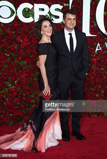 Actress Andrea Martin and Joe Dolman attend the 70th Annual Tony Awards at The Beacon Theatre on June 12 2016 in New York City