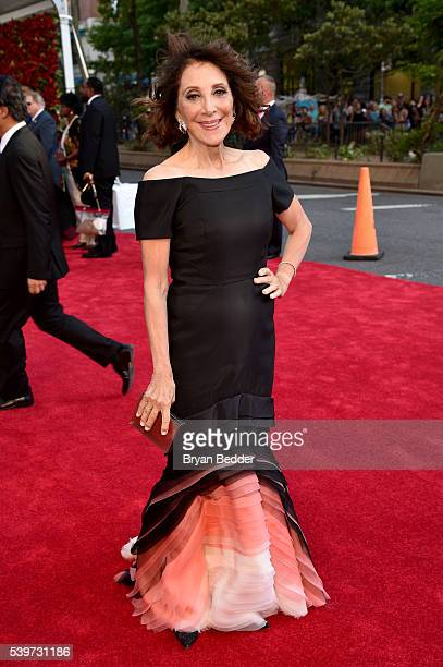 Actress Andrea Martin arrives at FIJI Water at 2016 Tony Awards at The Beacon Theatre on June 12 2016 in New York City