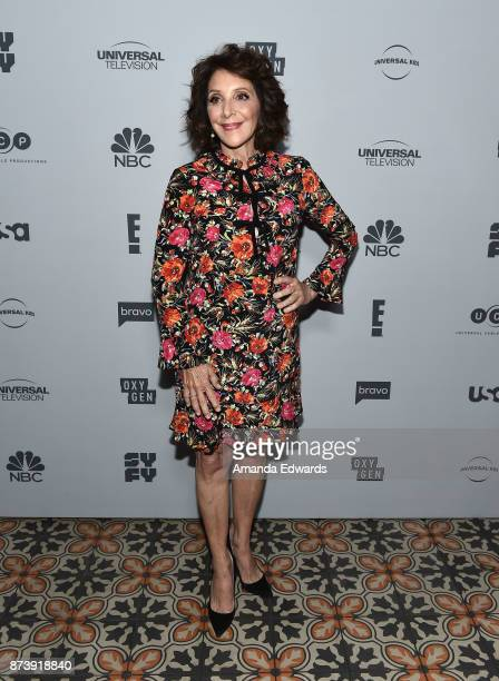 Actress Andrea Martin arrives at NBCUniversal's Press Junket at Beauty Essex on November 13 2017 in Los Angeles California