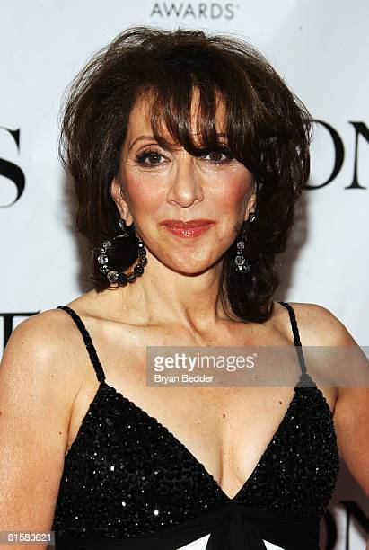 Actress Andrea Martin arrives at the 62nd Annual Tony Awards held at Radio City Music Hall on June 15 2008 in New York City