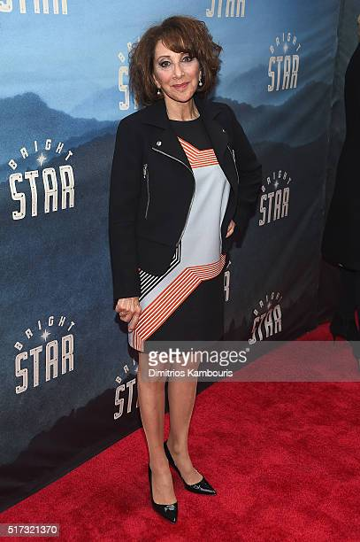 Actress Andrea Martin attends 'Bright Star' Opening Night on Broadway at The Cort Theatre on March 24 2016 in New York City