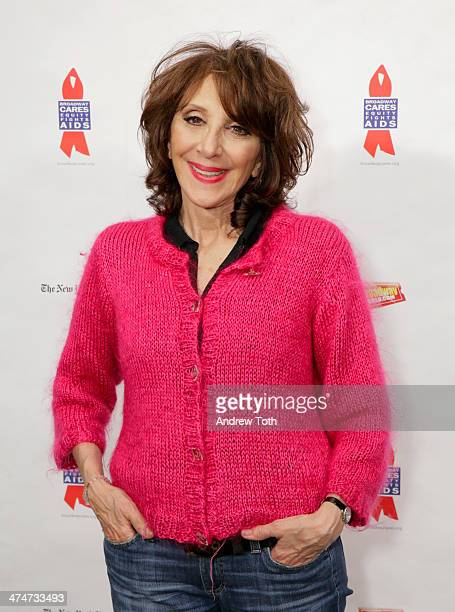 Actress Andrea Martin attends Debra Monk's Birthday Bash at Gerald Lynch Theater on February 24 2014 in New York City