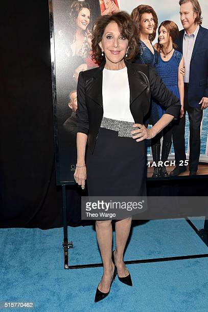 Actress Andrea Martin attends My Big Fat Greek Wedding 2 New York Premiere at AMC Loews Lincoln Square 13 theater on March 15 2016 in New York City