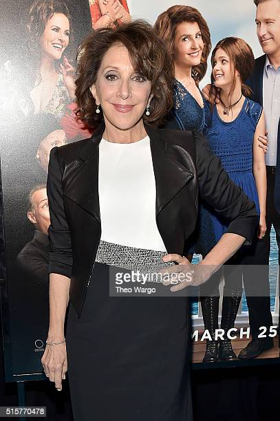 Actress Andrea Martin attends 'My Big Fat Greek Wedding 2' New York Premiere at AMC Loews Lincoln Square 13 theater on March 15 2016 in New York City