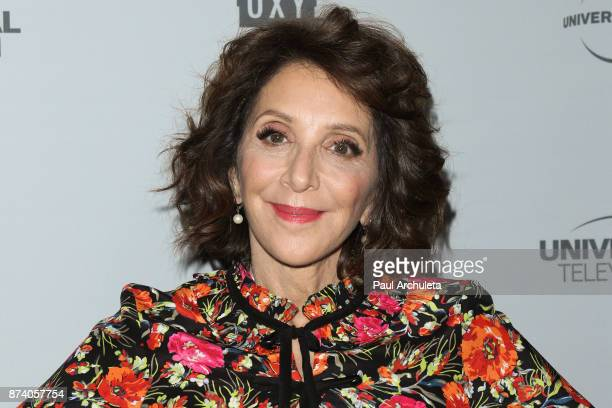 Actress Andrea Martin attends NBCUniversal's press junket at Beauty Essex on November 13 2017 in Los Angeles California