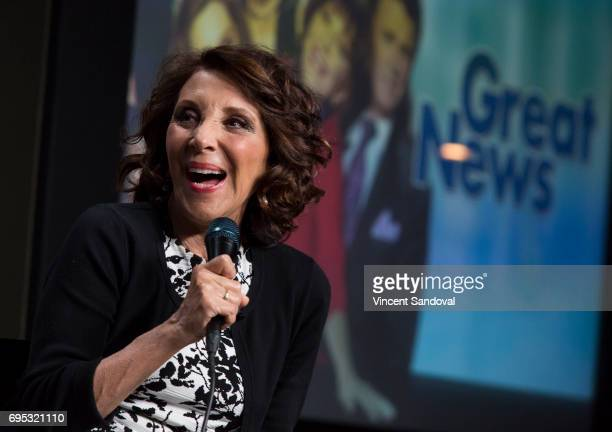 Actress Andrea Martin attends SAGAFTRA Foundation's Conversations with 'Great News' at SAGAFTRA Foundation Screening Room on June 12 2017 in Los...