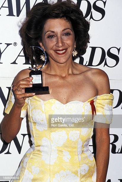 Actress Andrea Martin attends the 47th Annual Tony Awards on June 6 1993 at Gershwin Theatre in New York City
