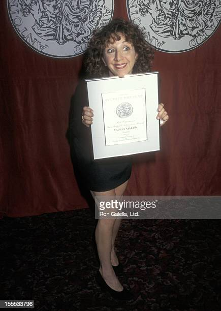 Actress Andrea Martin attends the 51st Annual Tony Awards Nominees Brunch on May 14 1997 at Sardi's Restaurant in New York City