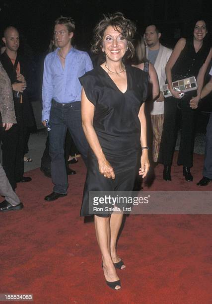 Actress Andrea Martin attends the Hedwig and the Angry Inch New York City Premiere on July 10 2001 at the Chelsea Cinemas in New York City