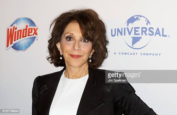 Actress Andrea Martin attends the 'My Big Fat Greek Wedding 2' New York premiere at AMC Loews Lincoln Square 13 theater on March 15 2016 in New York...