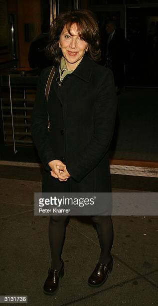 Actress Andrea Martin attends the opening night of '20th Century' March 25 2004 in New York City