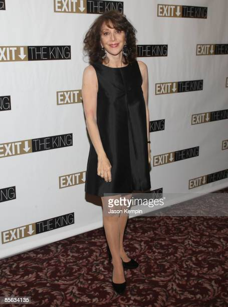 Actress Andrea Martin attends the opening night party for 'Exit The King' on Broadway at Sardi's on March 26 2009 in New York City