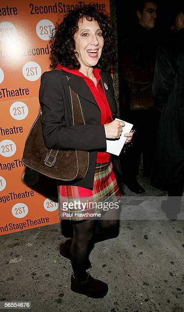 Actress Andrea Martin attends the play opening night of 'The Little Dog Laughed' at Second Stage Theatre January 9 2005 in New York City