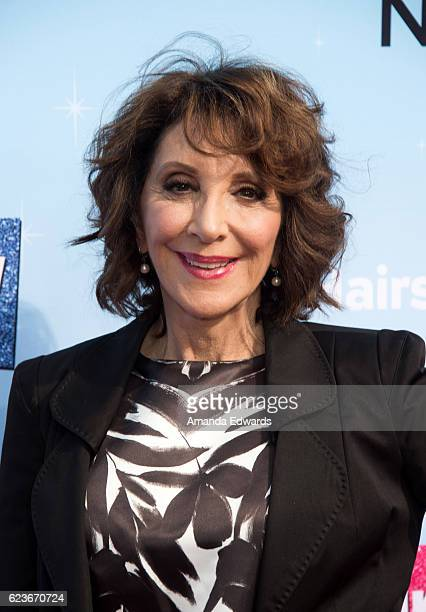 Actress Andrea Martin attends the press junket for NBC's 'Hairspray Live' at the NBC Universal Lot on November 16 2016 in Universal City California