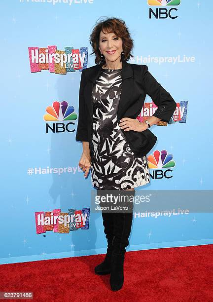 Actress Andrea Martin attends the press junket for NBC's 'Hairspray Live' at NBC Universal Lot on November 16 2016 in Universal City California