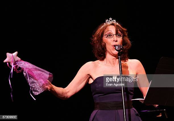 Actress Andrea Martin performs during the American Theatre Wing Annual Spring Gala at Cipriani 42nd Street on April 10 2006 in New York City