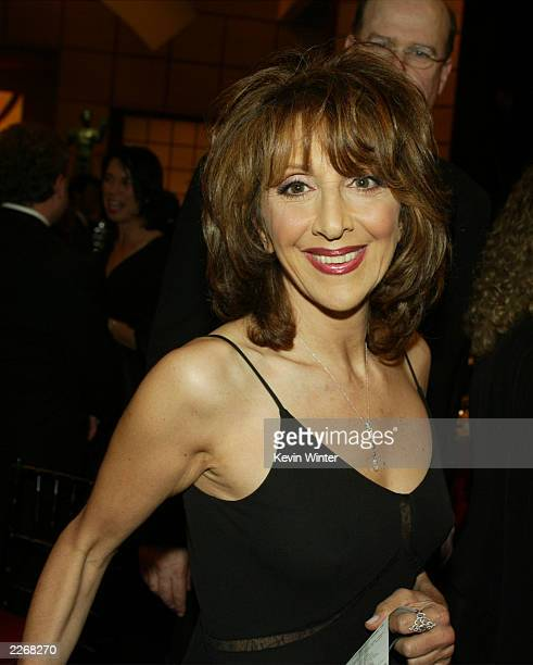 Actress Andrea Martin poses during the 9th Annual Screen Actors Guild Awards at the Shrine Auditorium on March 9 2003 in Los Angeles California