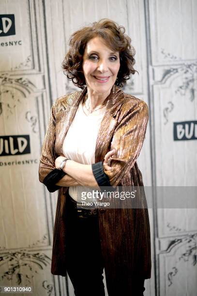 Actress Andrea Martin visits Build Studio on January 4 2018 in New York City
