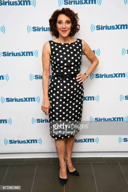 Actress Andrea Martin visits the SiriusXM Studios on April 24 2017 in New York City