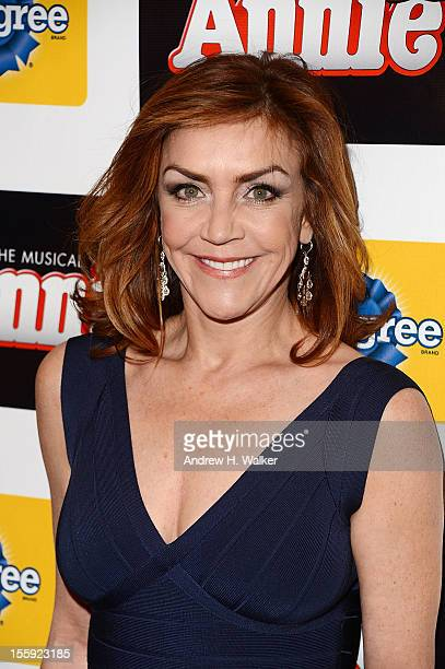 Actress Andrea McArdle attends the opening night of 'Annie' on Broadway at Palace Theatre on November 8 2012 in New York City