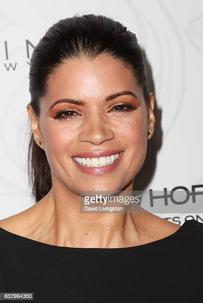Actress Andrea Navedo arrives at the Entertainment Weekly celebration honoring nominees for The Screen Actors Guild Awards at the Chateau Marmont on...