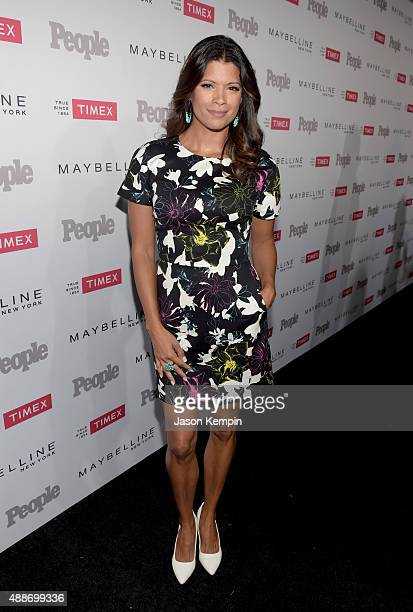 Actress Andrea Navedo attends PEOPLE's Ones To Watch Event on September 16 2015 in West Hollywood California